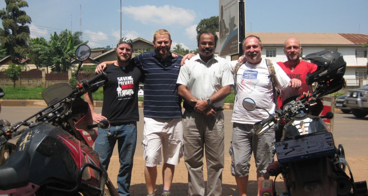 FOUR BIKERS RIDE 15, 000 KM FOR QUALITY EDUCATION FOR SOUTH AFRICA