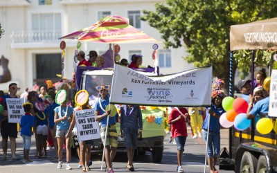 A colourful harvest parade marked the start of the 2015 Stellenbosch Wine Festival