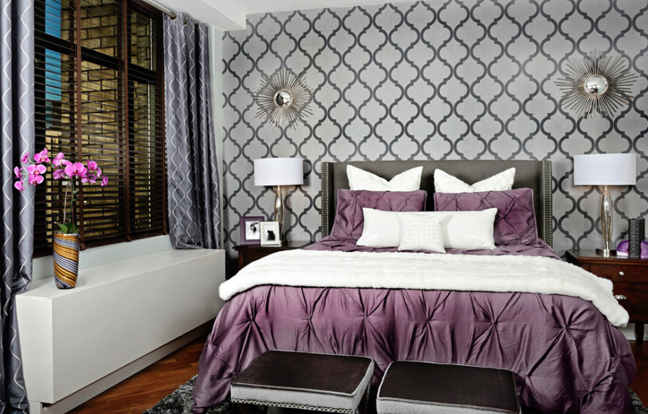 10 WALLPAPER IDEAS FOR YOUR MASTER BEDROOM - Spice4Life