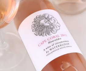 Cape Coral 2015 styled rose wine