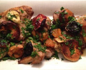 Cumin-and-mustard-roasted-chicken-with-fruit-Photo-from-Nov-4-2014