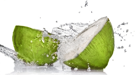 bigstock_Green_coconut_with_water_splas_15039089 smaller