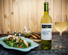 Grilled thyme chicken with Premier Grand Cru 5 LR