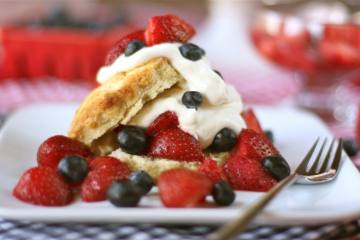 Ocean Spray Red, White and Blue Shortcakes Image