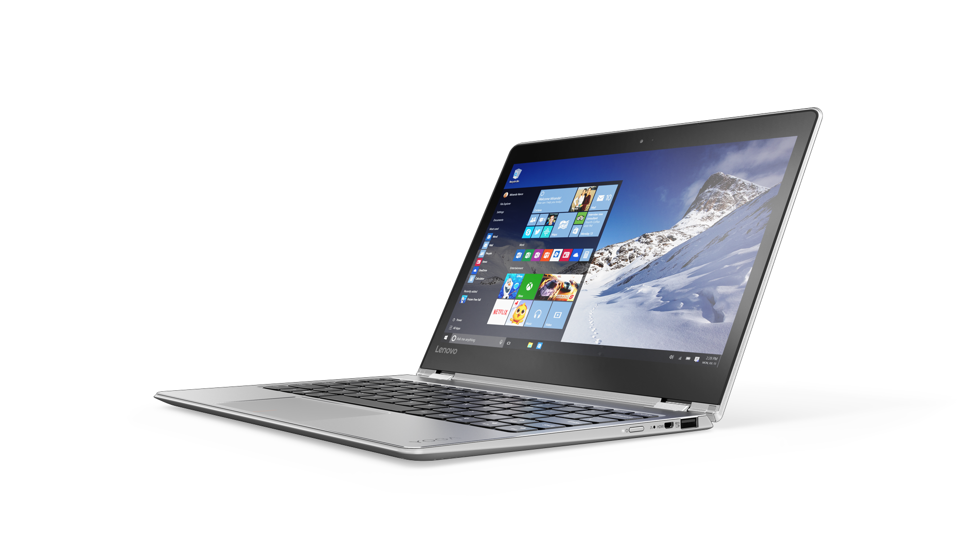 Lenovo™ Launches New Travel-ready Windows® 10 Tablet and ...