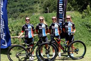 SA cycling team