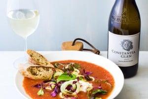 Gazpacho & Constantia Glen Sauvignon Blanc LR