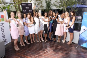 Miss South Africa Finalists- Microsoft Lumia 650 device handover