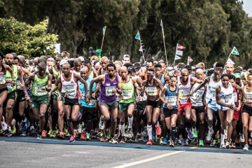 Sanlam Cape Town Marathon Bridging the Gap
