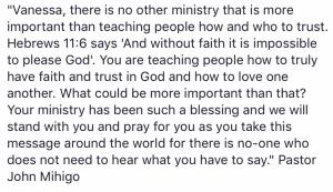 Testimonial John Rwanda