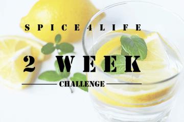 2 week lemon water challenge.