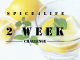 2 week lemon water challenge.