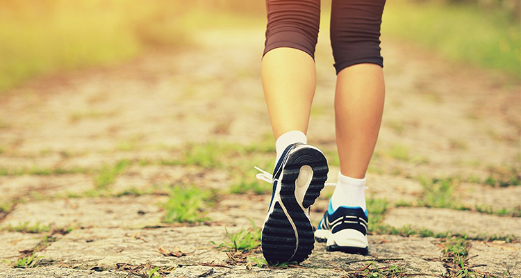 A HEALTHY, LONGER LIFE IS A WALK IN THE PARK