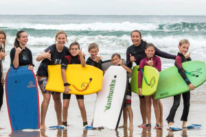 Images from recent Bodyboarding Clinic held by SA's top wave-riding women