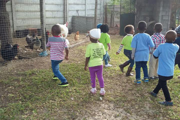 YOUNGSTERS VISIT ANIMAL FARM IN PHILIPPI