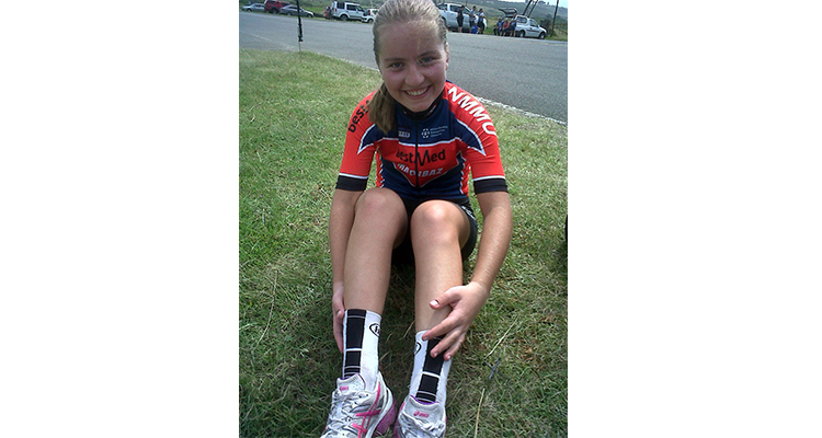 NMMU CYCLIST SELECTED FOR SA ROAD TEAM