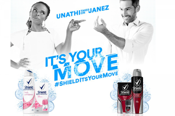 SHIELD LAUNCHES IT'S YOUR MOVE WITH UNATHI AND JANEZ