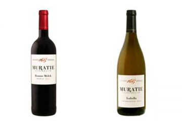 Muratie releases new vintages of the Ronnie Melck Shiraz and Isabella Chardonnay