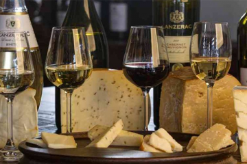 BEAT THE WINTER BLUES WITH LANZERAC'S WINE AND CHEESE PAIRINGS