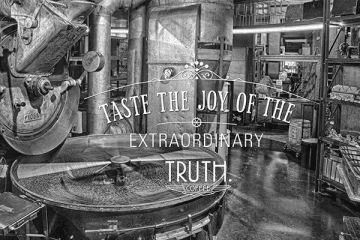 THE PURSUIT OF PERFECTION GAINS TRUTH COFFEE ROASTERY WORLD CLASS STATUS