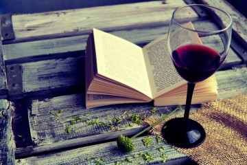 The Grape Escape: Why books and wine go hand in hand