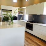 Open plan kitchen design - Kitchen Finishes contemporary