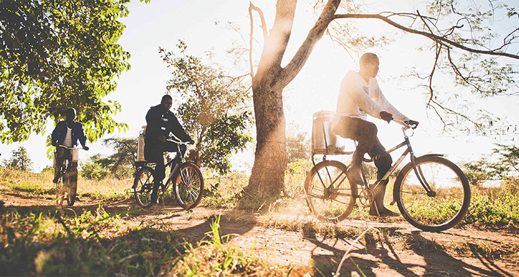 HELPING TO FIGHT POVERTY ONE BICYCLE AT A TIME