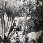 Pierre Frey fabric print - Black & White chic foliage