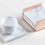Marble Accessories with Copper