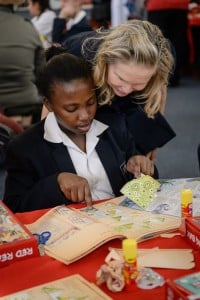 ST MARTIN'S CELEBRATES THE LAUNCH OF THE 2016 READATHON RED READING BOX