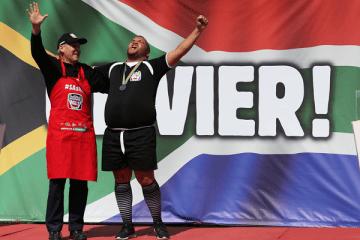 Olivier Kritzinger Crowned 2016 Championship Boerewors Winner