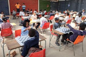 Fun chess day in Diepsloot