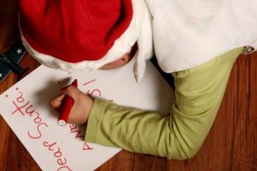 DEAR SANTA - WRITE A LETTER TO SANTA THIS CHRISTMAS