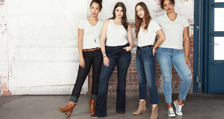 FIND THE PERFECT PAIR OF JEANS FOR YOUR BODY TYPE