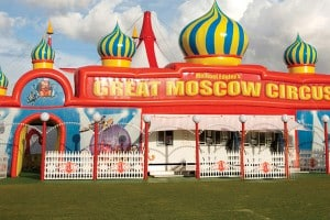 THE GREAT MOSCOW CIRCUS - NEWS FLASH BIG TOP UP PRICE DOWN