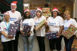 240 SANTA SHOEBOXES PACKED AT GRANDWEST