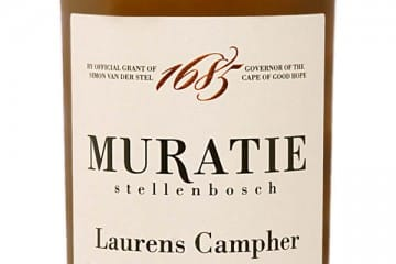 MURATIE'S LAURENS CAMPHER FLAGSHIP WHITE BLEND CONTINUES TO IMPRESS