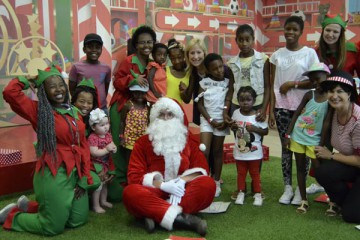 MENLYN PARK SHOPPING CENTRE MAKES KIDS SMILE THIS FESTIVE SEASON