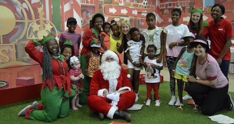 MENLYN PARK SHOPPING CENTRE MAKES KIDS SMILE THIS FESTIVE SEASON