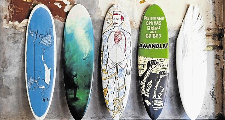 RECORD R300,000 RAISED AT SURFBOARD ART CHARITY AUCTION