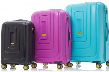 GET ON THE LIGHT TRACK WITH AMERICAN TOURISTER