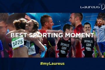 LAUREUS INTRODUCES EXCITING NEW BEST SPORTING MOMENT OF THE YEAR AWARD