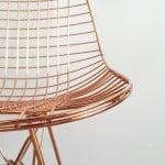 Copper chair