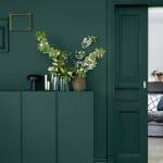Green main paint colour