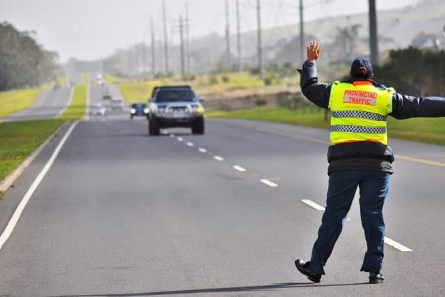 What to do in a roadblock