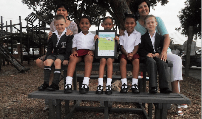KABEGA PRIMARY WINS CLEAN-UP AND RECYCLE COMPETITION