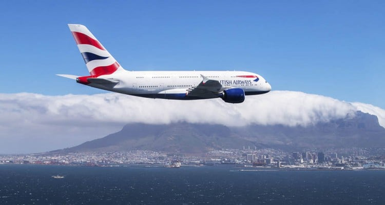 BRITISH AIRWAYS NAMES TOP SIX DESTINATIONS FOR 2017
