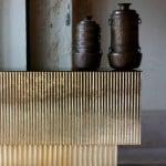 Textured brass
