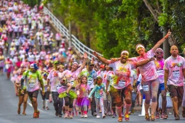 THE COLOR RUN RAINBOW TOUR CONCLUDES IN STELLENBOSCH THIS FEBRUARY