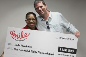 MENLYN PARK SHOPPING CENTRE GIVES THE GIFT OF A SMILE